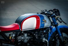 Ready to Rip: NCT Motorcycles' Racy Honda CX500 #cx500 Sergio_SR
