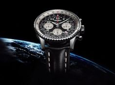 """Navitimer Cosmonaute - A new """"space chronograph"""" with a Manufacture caliber."""