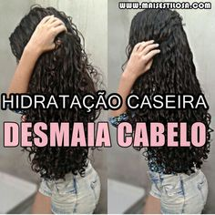 CLIQUE AQUI e conheça a hidratação caseira que vai salvar o seu cabelo e fazer os fios desmaiarem de tão macios. Beauty Care, Beauty Hacks, Hair Beauty, Natural Hair Styles, Long Hair Styles, Cool Braids, Beautiful Long Hair, How To Make Hair, Curled Hairstyles