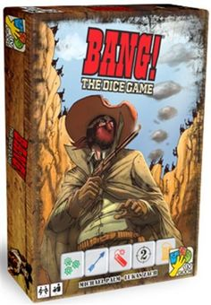 Bang!: The Dice Game $13.60 #bestseller