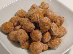 Chicken and pork meat balls
