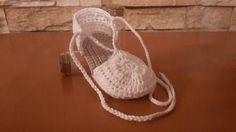 Tutorial zapatitos bebé crochet. Parte II, sandalia.