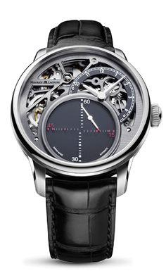 時計 : MASTERPIECE Mysterious Seconds | モーリス・ラクロア | Maurice Lacroix