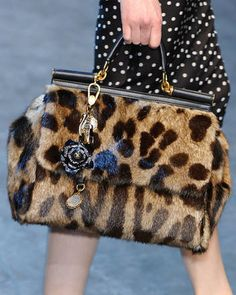 Dolce and Gabbana.Fur Accesories for Fall