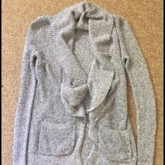 LOFT sweater gray New without tags LOFT Sweaters Cardigans