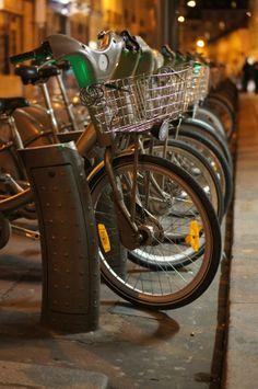#paris #bikes