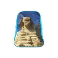 Sphinx and Pyramis School Backpack. FREE Shipping. FREE Returns. #lbackpacks #egypt