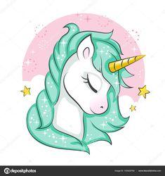 Descargar - Lindo Unicornio Mágico Diseño Vectores Aislado Sobre Fondo  Blanco Impresión — Ilustración de Stock 11c9aa386e671