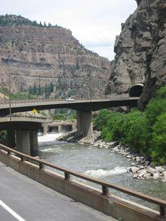 I70 Colorado Glenwood Canyon Highway