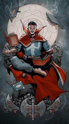 Marvel Xmen, Marvel Comics Art, Marvel Heroes, Comic Books Art, Comic Art, Stevie Young, Doctor Strange Comic, Avengers Wallpaper, Marvel Funny