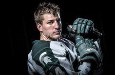 ice hockey portrait