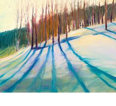 "Bring home Deer Valley, Utah with ""Early Evening Snowed"" by Ann Rea"