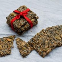 Brilliant recipe, GF crackers: made with seeds and nuts!
