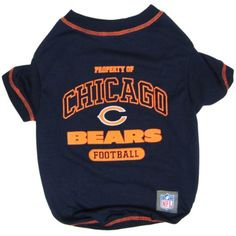 Pets First NFL Chicago Bears T-Shirt, X-Small >>> Want additional info? Click on the image. (This is an affiliate link) #ApparelAccessories