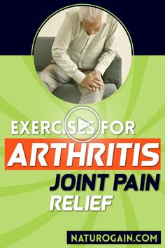 This video explains the best exercises to fight arthritis, improve joint pain, reduce symptoms, and lessen inflammation naturally. #arthritis #jointpain #kneepain Vitamins For Nerves, Tooth Nerve, Arthritis Exercises, Arthritis Pain Relief, Nerve Pain, Knee Brace, Heel, Paragraph