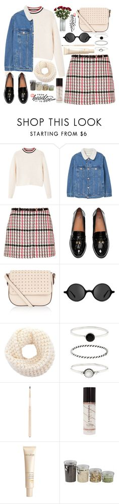 """Без названия #114"" by lena-volodivchyk ❤ liked on Polyvore featuring MANGO, River Island, H&M, Accessorize, Muse, Stila, Decléor, Home Basics and Sagaform"