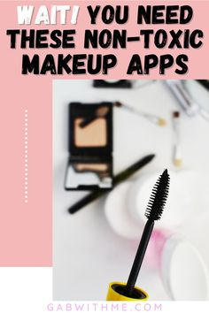 Are you using toxic makeup products? These two free apps are all you need to quickly find out if your skincare and makeup products are toxic. Read this guide for the down and dirty on your products.       #ThinkDirtyApp #EWGApprovedProducts #EWGApprovedMakeup #NonToxicMakeup #NonToxicSkinCare