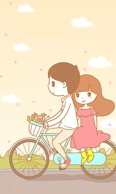 Ideas for live wallpaper iphone anime Love Cartoon Couple, Cute Love Cartoons, Anime Love Couple, Cute Couple Drawings, Cute Couple Art, Cute Drawings, Couple Ideas, Couple Pics, Trendy Wallpaper