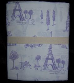 Pottery Barn Kids Lavender  PRISCILLA French Toile Sheet Set TWIN, 2 sets avai   $49