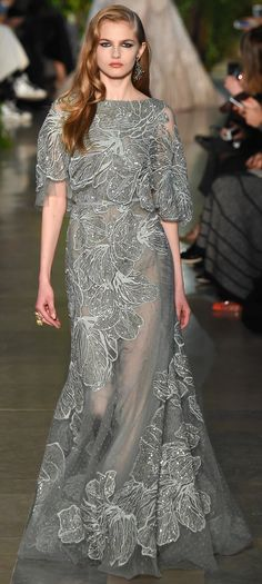 Elie Saab Haute Couture Spring 2015.