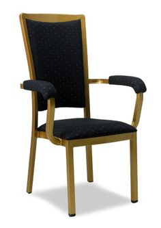 """""""Waymer Arm Chair"""".  Seat and back is fully upholstered for maximum comfort and quality finish.  Please contact us for pricing (718)363-3097."""