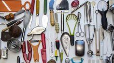Utensili in mostra all'ottava edizione del Triennale Design Museum - 'Cucine e Ultracorpi'