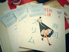 SUSHI SLIM by Makiko Sano.