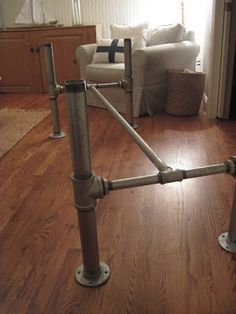 Image result for industrial island legs