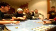 Partida a Panico en #WallStreet  visita nuestro blog http://boardgamescave.wordpress.com/