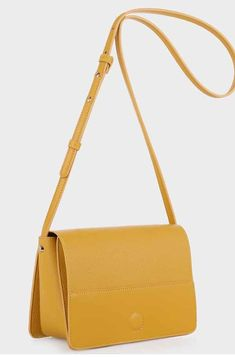 - Vegan pebble grain leather - Foldover flap with magnetic closure - Exterior back zip pocket - Zip pocket under flap - Adjustable crossbody strap Size - x x - shoulder drop Crossbody Bag, Prom, Colours, Zip, Shoulder, Leather, Bags, Senior Prom, Handbags