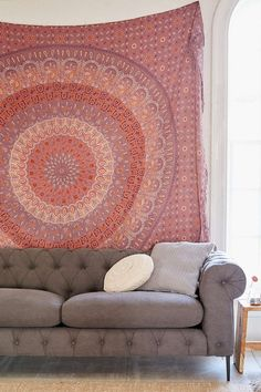 Maina Medallion Tapestry