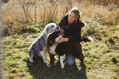 We've updated our website! & feature the amazing photos of internationally acclaimed documentary photographer Hannah Stonehouse Hudson. On our homepage, Home for Life animal care specialist Melissa with Shakespeare and Charlotte. http://www.homeforlife.org/whats_new.htm