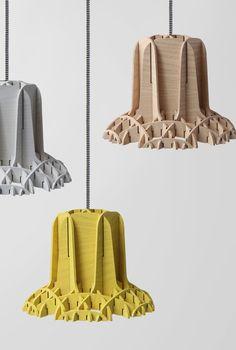 Ash pendant #lamp CROSS LAMP by @specimened #design Thinkk Studio