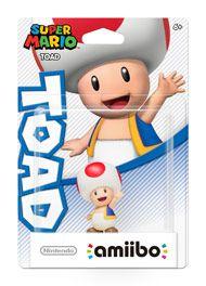 Boxshot: Toad Super Mario amiibo Figure by Nintendo