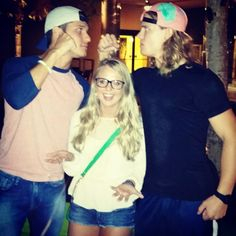 Cody and Hayden fighting over Nicole! Haha think Zach had a crush on her in the beginning too lol