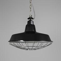 Lámpara colgante STRIJP L negra #iluminacion #decoracion #interiorismo