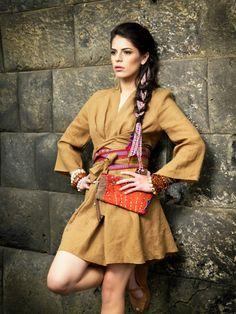 Tweak it in your special way. Alba linen tunic/dress.