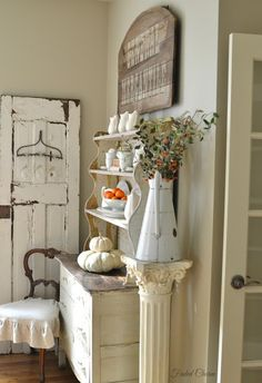 Faded Charm: ~Ironstone in the Farmhouse~