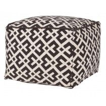 Graphic Puff Pouf Design, Plaid Curtains, House Doctor, Outdoor Furniture, Outdoor Decor, Interior Styling, Ottoman, Pillows, Chair