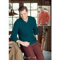 Sweaters In Hayfield Bonus Aran (9795)