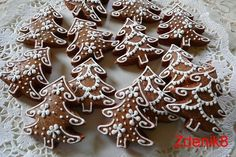 Baking Cookies, No Bake Cookies, Fondant Cakes, Bon Appetit, Gingerbread Cookies, Advent, Biscuits, Xmas, Desserts