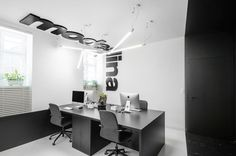 Studio with a Modern Design Born From the Need for a Larger Space in Which to Work and Perform Day to Day Tasks