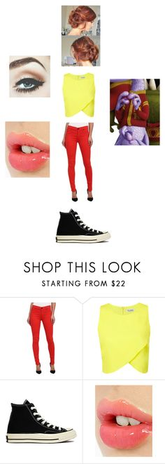"""Toxicity Challenge with Randy"" by maryvarleyrox ❤ liked on Polyvore featuring Hudson, Miss Selfridge, Converse and Charlotte Tilbury"