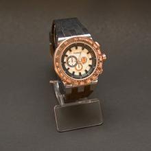 Ρολόι χειρός της εταιρίας FERENDI στο χρώμα του μαύρου Κωδ SWAA0012F 55,00 € Square Watch, Bling, Watches, Accessories, Jewel, Clocks, Clock, Ornament