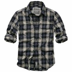 I like this plaid shirt Casual Shirts, Casual Outfits, Men Casual, Designer Clothes For Men, Designer Clothing, Look Fashion, Mens Fashion, Herren Outfit, Branded Shirts