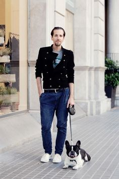 Street style by Constantino…and his little friend