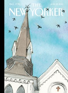 "The New Yorker - Monday, June 29, 2015 - Issue # 4597 - Vol. 91 - N° 18 - Cover ""Nine"" by Barry Blitt"