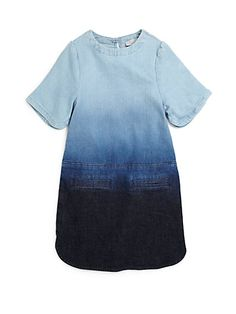 691df7c3acb Toddler s   Little Girl s Dip-Dyed Denim Dress · Girls Fall DressesGirls  WearSummer ...