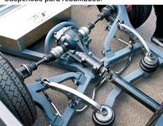Crazy low rider suspension If you cant afford the best you will need next best lol our ya low riding will be cute short .at any TIME. Cantilever Suspension, Suspension Design, Custom Trucks, Custom Cars, Kart Cross, Hors Route, Air Ride, Mini Trucks, Pedal Cars