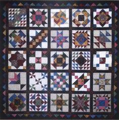 Nine Patch Civil War Reproduction Quilt